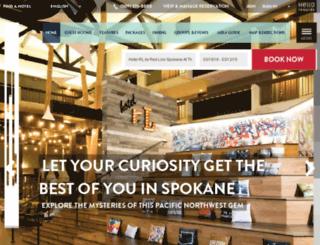 spokaneatthepark.redlion.com screenshot