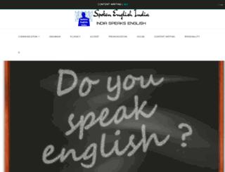 spokenenglishindia.com screenshot