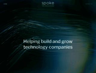 spoketechnologies.com screenshot