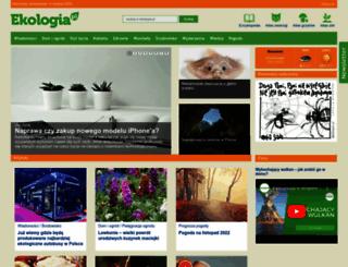 spolecznosc.ekologia.pl screenshot