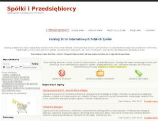 spolki.panoramainwestycji.pl screenshot