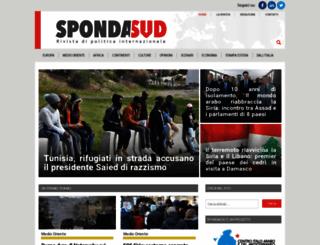 spondasud.it screenshot