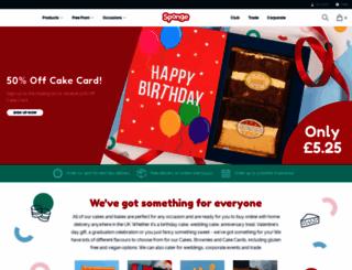 sponge.co.uk screenshot