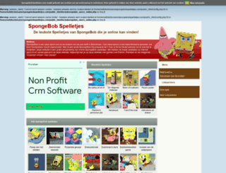 spongebobspelletjes.com screenshot