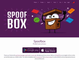 spoofbox.com screenshot
