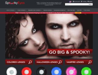 spookyeyes.com screenshot