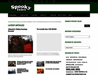 spookyisles.com screenshot