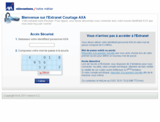 spoolnet2.axa-courtage.fr screenshot