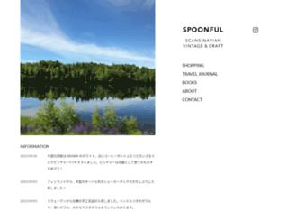 spoon-ful.jp screenshot