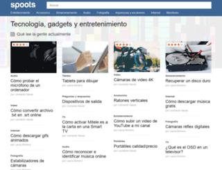 spoots.com screenshot