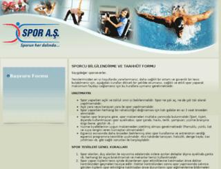 sporasonline.com screenshot