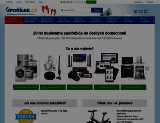 sporilek.cz screenshot