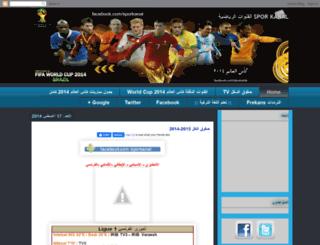 sporkanal1.blogspot.com screenshot