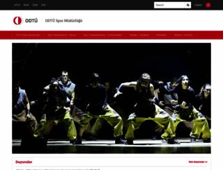 spormd.metu.edu.tr screenshot