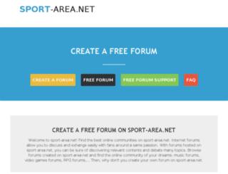 sport-area.net screenshot