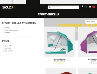 sport-brella.com screenshot