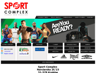 sport-complex.pl screenshot