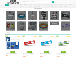 sport-fitness.cz screenshot