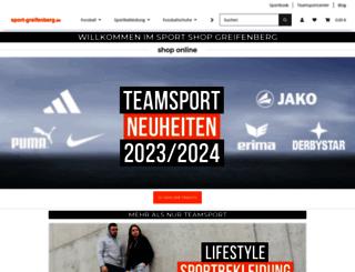 sport-greifenberg.de screenshot