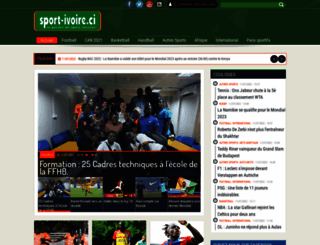 sport-ivoire.ci screenshot