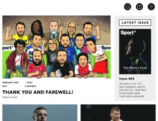 sport-magazine.co.uk screenshot