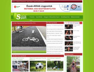 sport-net.hu screenshot