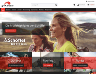 sport-platzer.de screenshot
