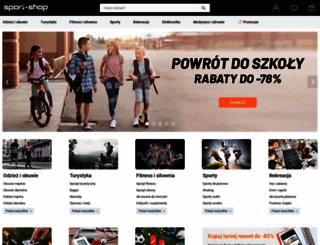 sport-shop.pl screenshot