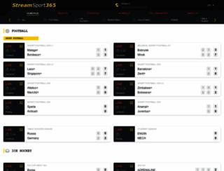 sport-stream-365.com screenshot