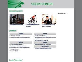 sport-trops.com screenshot