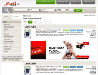 sport.bazac.cz screenshot