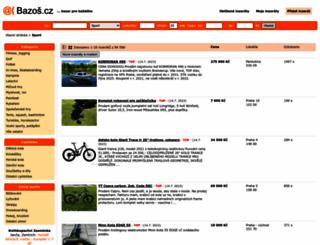 sport.bazos.cz screenshot