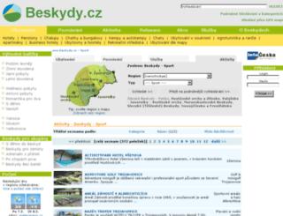 sport.beskydy.cz screenshot