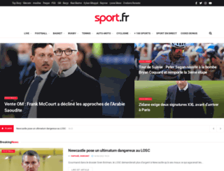 sport.fr screenshot