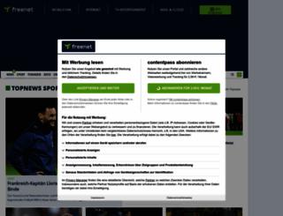 sport.freenet.de screenshot