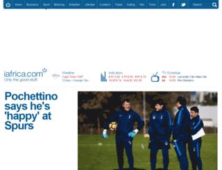 sport.iafrica.com screenshot