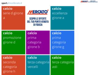 sport.ilmonferrato.it screenshot