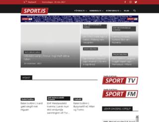 sport.is screenshot
