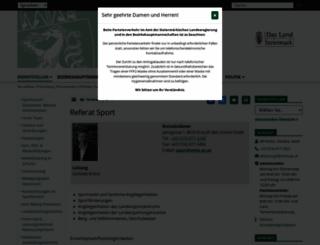 sport.steiermark.at screenshot