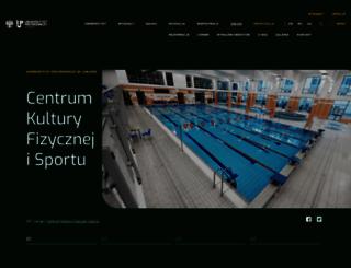 sport.up.lublin.pl screenshot