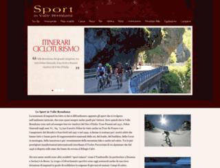 sport.vallebrembana.org screenshot