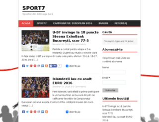 sport7.jurna.ro screenshot