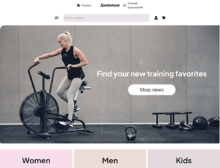 sportamore.fi screenshot