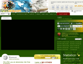 sportarbs.com screenshot