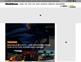sportauto.fr screenshot