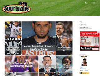 sportazine.com screenshot