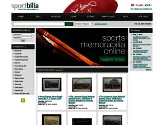 sportbilia.com screenshot