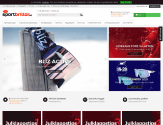sportbrillor.se screenshot