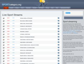 sportcategory.org screenshot