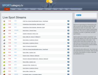 sportcategory.tv screenshot